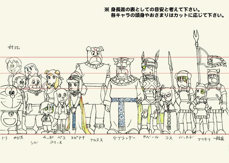 [日本] 珍貴哆啦A夢電影原畫稿大解密! 瞧瞧電影的製作背後