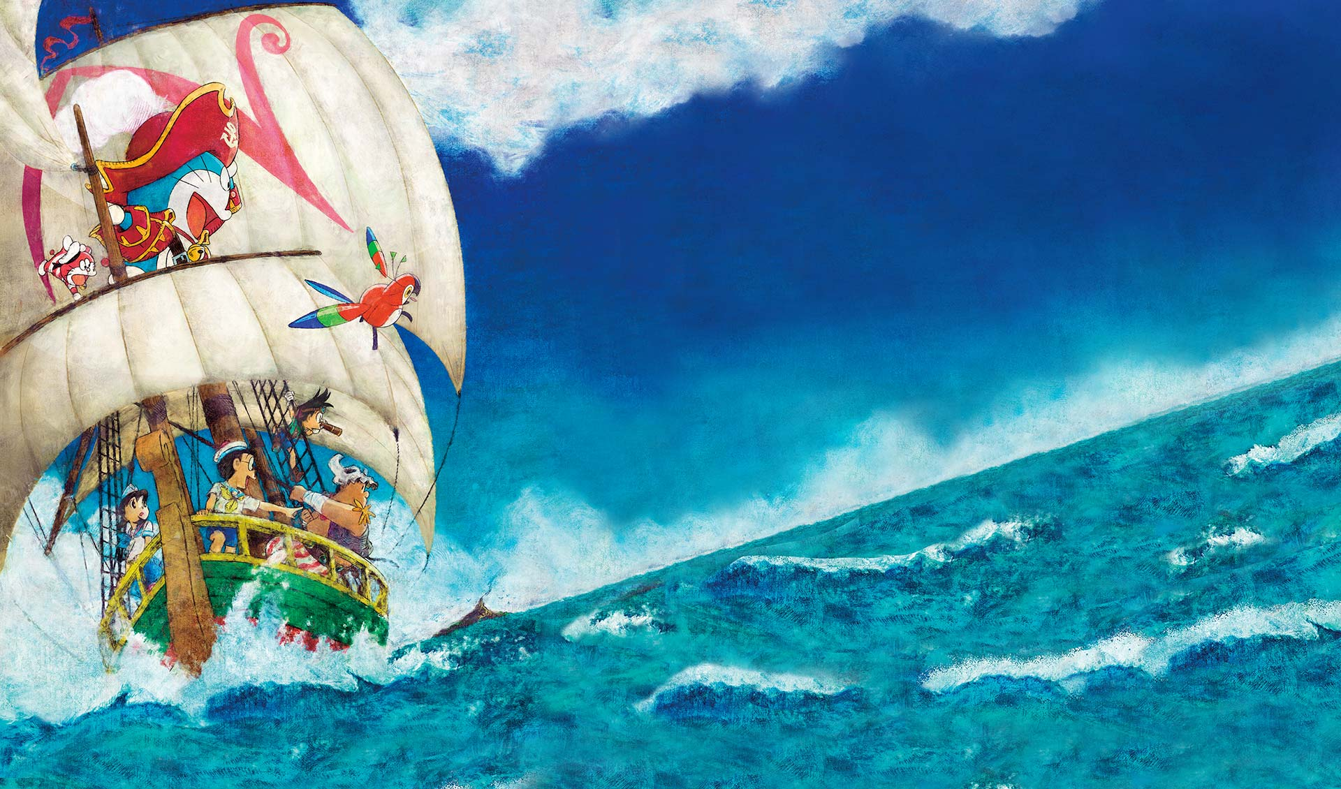 Doraemon: Nobita's Treasure Island (2018)
